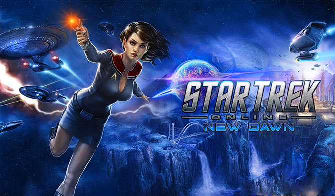 Обложка игры Star Trek Online