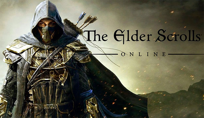 Обложка игры The Elder Scrolls Online