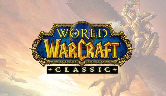 Обложка игры WoW Classic