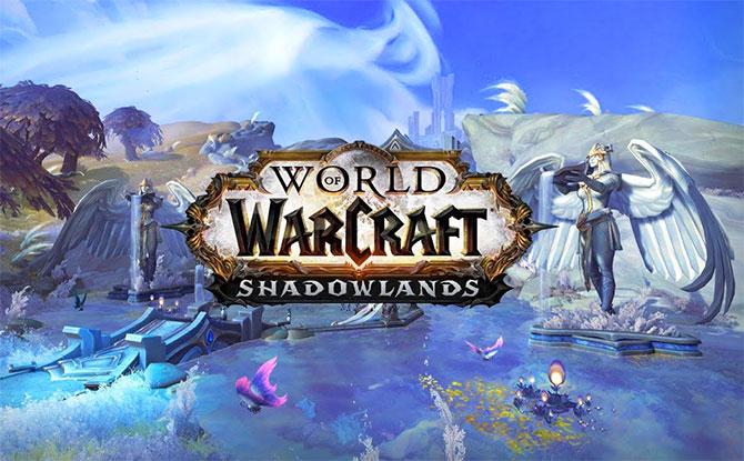 Обложка игры WoW Shadowlands