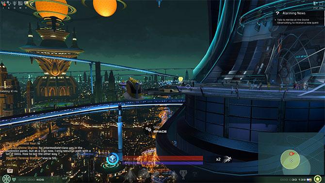 Открытый мир в игре Skyforge