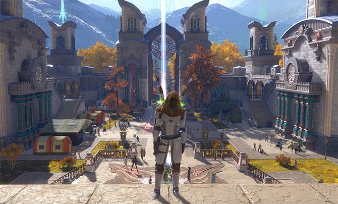 Скриншот из игры Skyforge