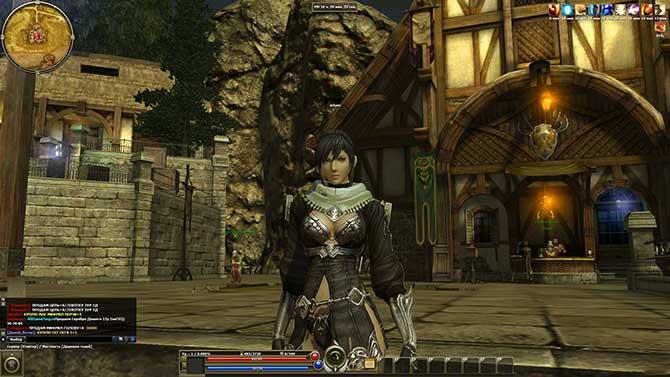 Скриншот из игры R2 Online