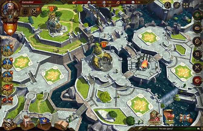 Геймплей стратегии Dawn of Empires