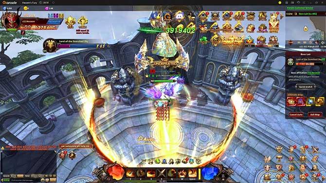 Графика в игре League of Angels Heaven's Fury