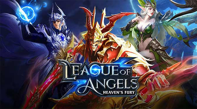 Обзор браузерной РПГ League of Angels Heavens Fury