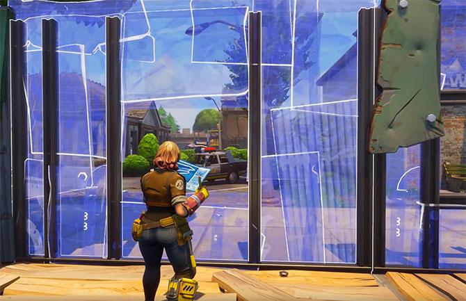 Как строить в игре Fortnite