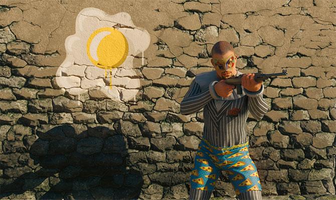 Скриншот из игры CRSED F.O.A.D