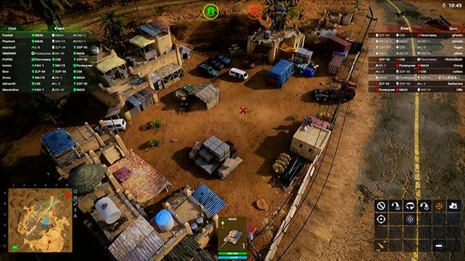 Скриншот из игры Iron Conflict