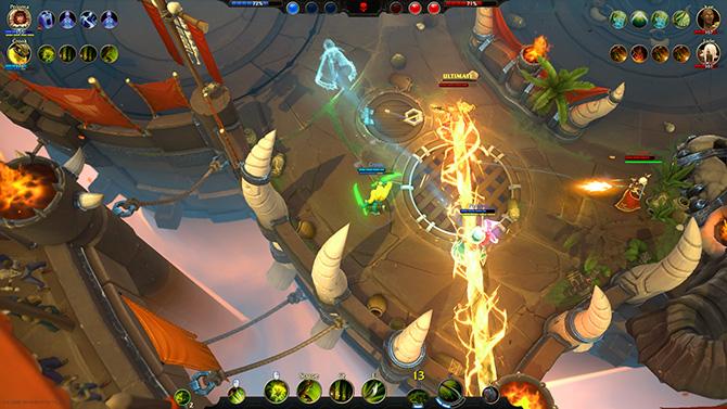Скриншот из игры Battlerite