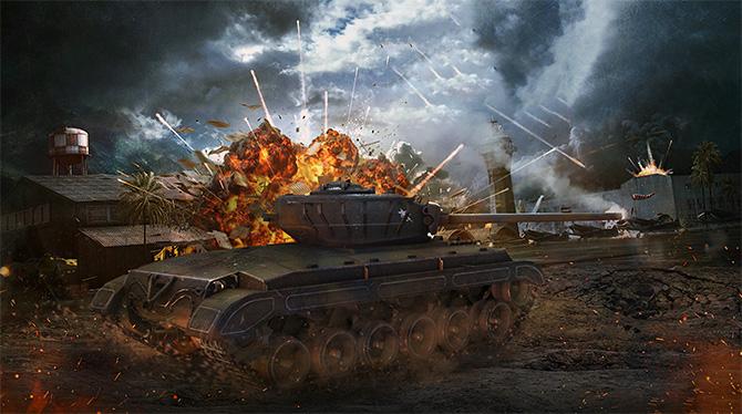 World of Tanks станет доступен в Stream