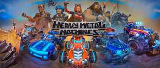 Обзор игры Heavy Metal Machines