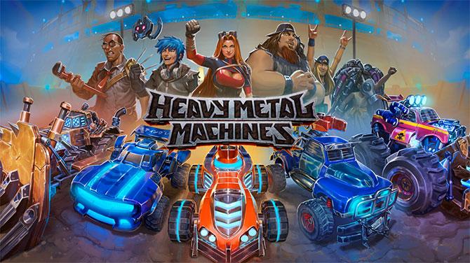 Онлайн игра Heavy Metal Machines