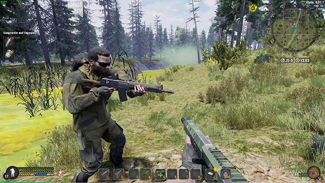 Боевая система в игре Will To Live Online