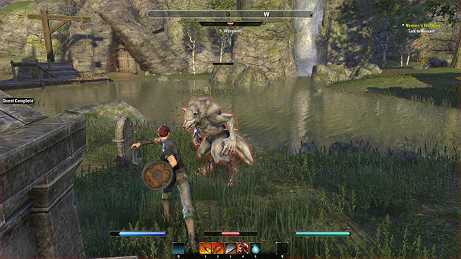 Обзор геймплея The Elder Scrolls Online