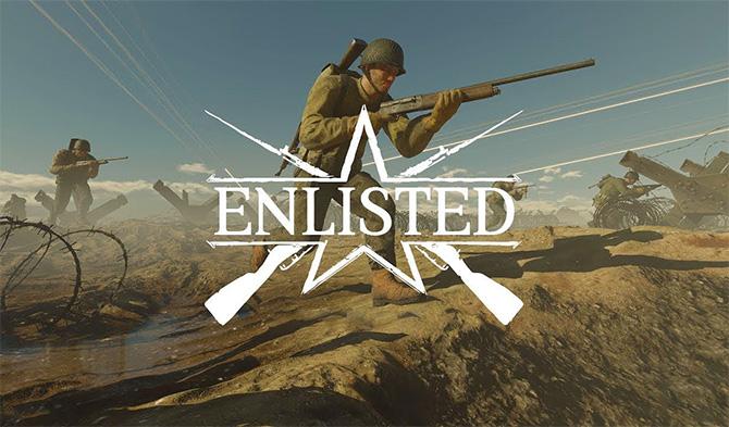 Регистрация в игре Enlisted