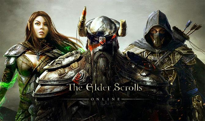 Регистрация в игре The Elder Scrolls Online