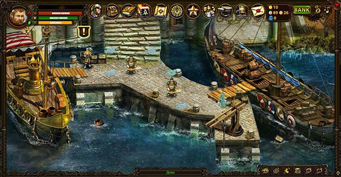 Скриншот из игры ТехноМагия