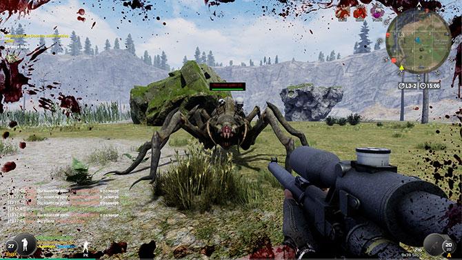 Скриншот из игры Will To Live Online