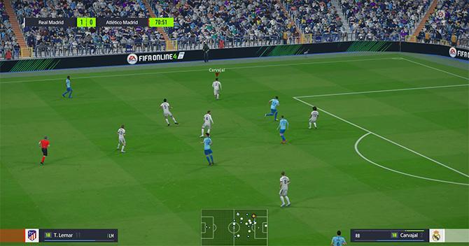Качество графики FIFA Online 4