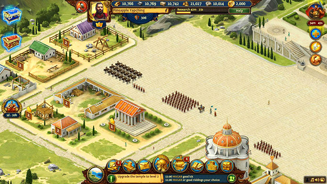 Качество графики в игре Total Battle