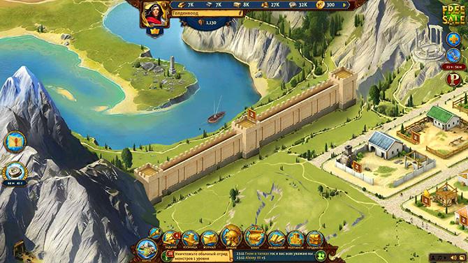 Скриншот из игры Total Battle