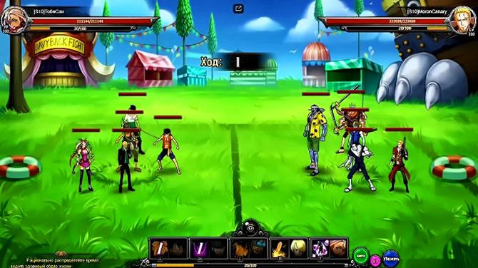 Боевая механика в Bloody Pirate 2