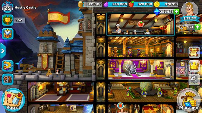 Скриншот из игры Hustle Castle