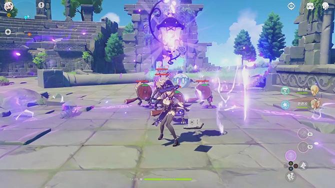 Геймплей игры Genshin Impact