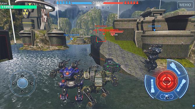 Геймплей игры War Robots