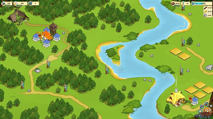 Обзор геймплея стратегии Asterix & Friends