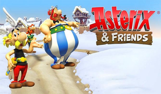 Регистрация в игре Asterix and Friends