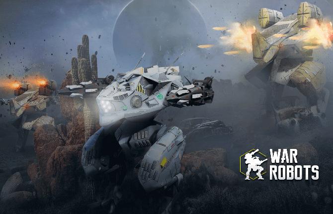 Регистрация в игре War Robots