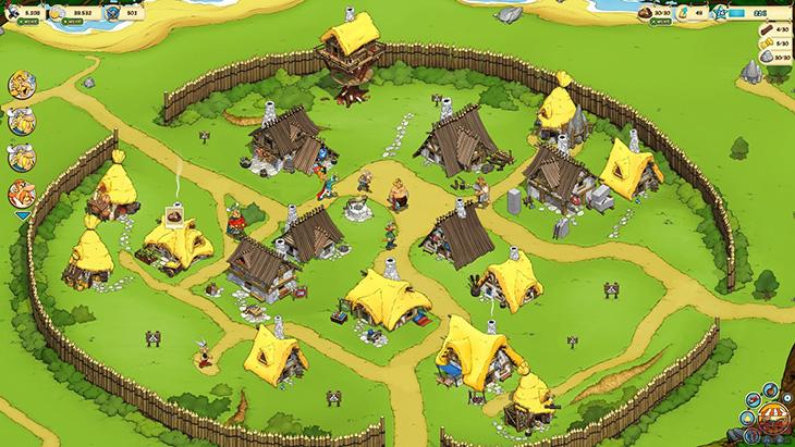 Скриншот из игры Asterix & Friends