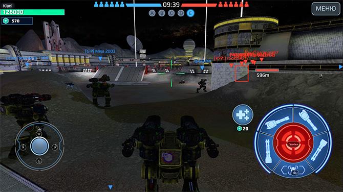 Особенности игры War Robots